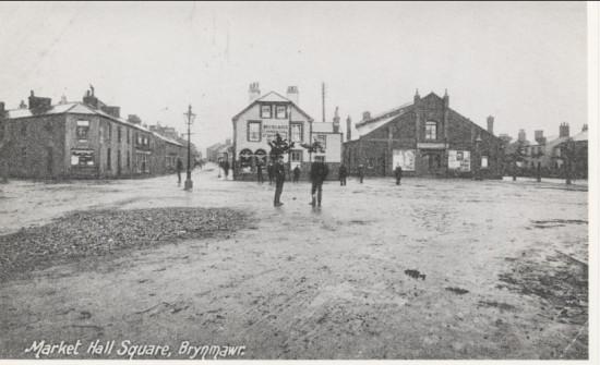 Market square,Brynmawr