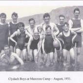 Clydach Boys at Camp 1931