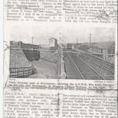 Line from Nantyglo to Brynmawr