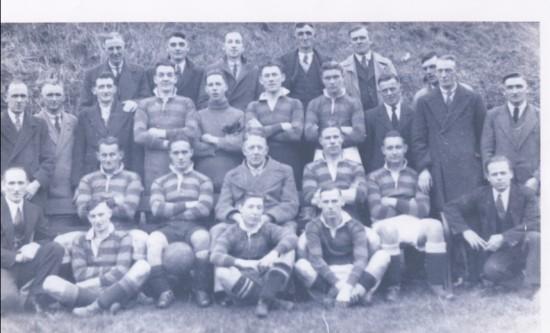 Clydach  Football Team 1936 1937