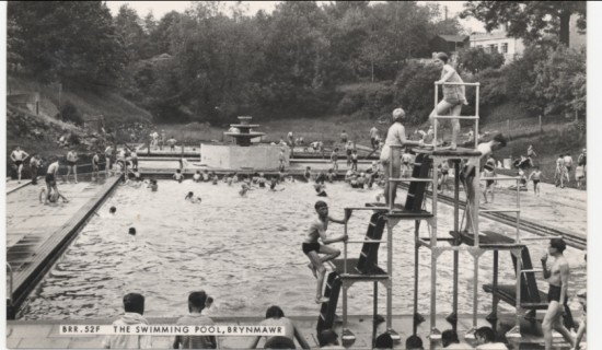 Brynmawr Swimming Pool, 1930s