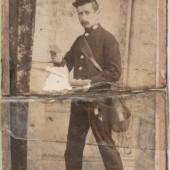 First Postman in Brynmawr