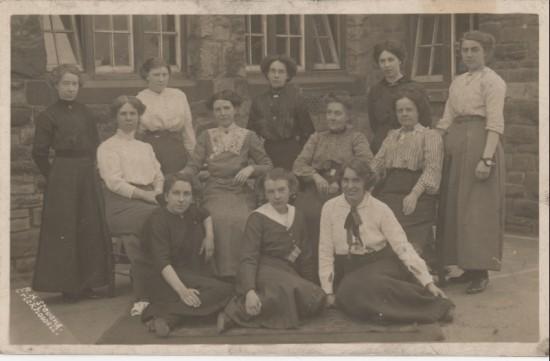 Staff of Brynmawr Board School