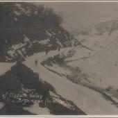 Snow on Clydach Valley Brynmawr
