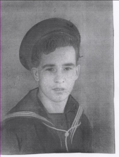 Ordinary Seaman Ernie Kershaw