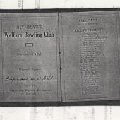 Brynmawr Bowling Club Season Ticket 1930