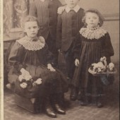 Photograph of the Lewis Children