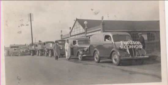 Fordson Convoy at Nick Carters Garage