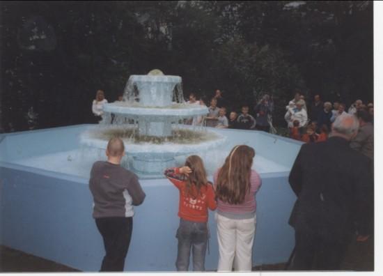 Brynmawr Fountain from Baths