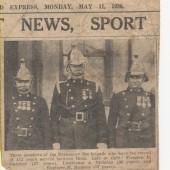 Brynmawr Fire Brigade senior members, 1936