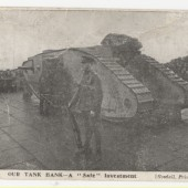 World War I Tank, 1916 to 1918