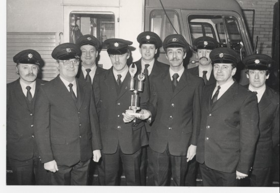 Runners up of station efficiency competition 1984