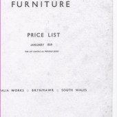 Brynmawr furniture price list