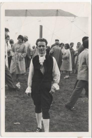 Welsh Folk dancer, Brynmawr. Alan Williams