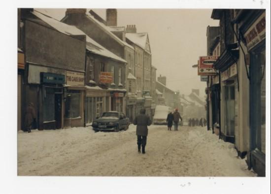 Brynmawr in the snow