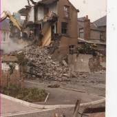 Demolition of 110 and 111 Worcester Street, Brynmawr