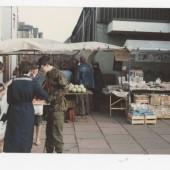 Brian Shellard market stall, Brynmawr