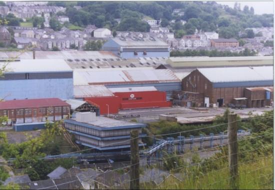 Corus Steelwork Site Prior to demolition