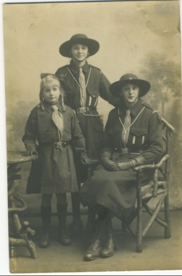 Girl Guides c. 1920