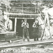 Workers at Red Ash Level