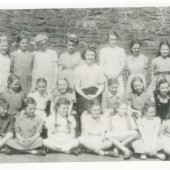 Class 5 of Cwmyrdderch School (Top School)