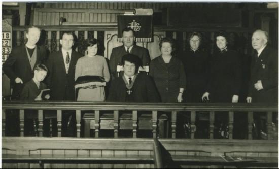Cwm Sunday School Union. New Presidency.