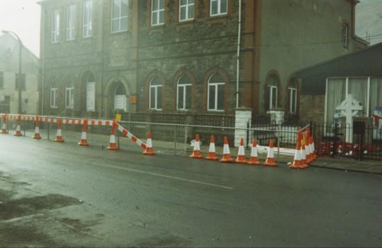 Collapse of Cwm Institute