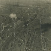 Aerial photo of Waunlwyd, 1948