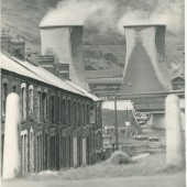 Station Road, Waunlwyd, and the south end of Ebbw Vale Steelworks