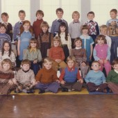 Class at Waunlwyd School