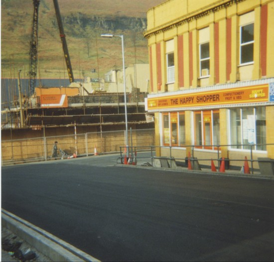 Demolition of Cwm Institute