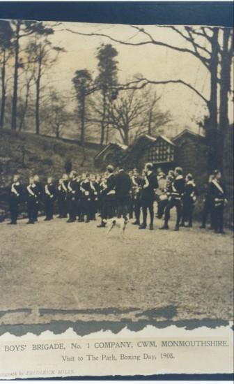 Cwm Boys Brigade 1908