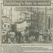 Collapse of Cwm Institute, 1992