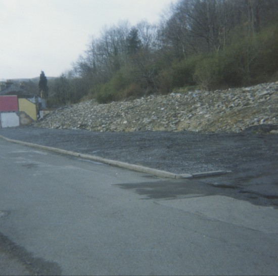 Demolition of Railway Terrace (looking north)
