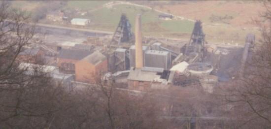 Marine Colliery before demolition