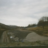 Cwm Bypass looking north from St. Paul's Bridge