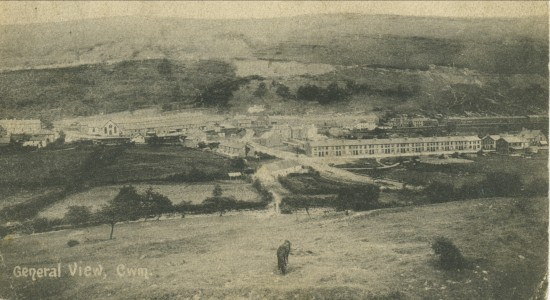 Early veiw of Cwm