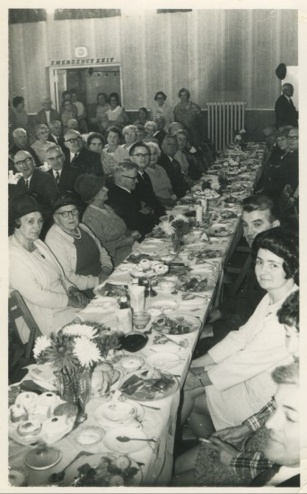 Labour Party pensioners' Christmas Party, early 1960s
