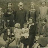 The Wilcox family, 1930s
