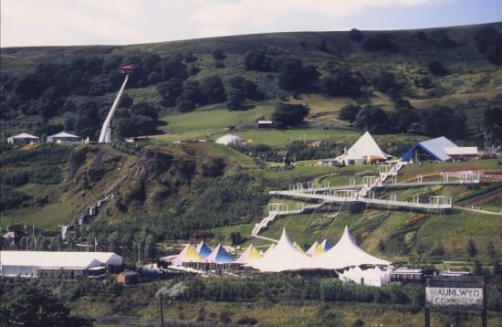 Garden Festival Wales 1992 Panorama 1