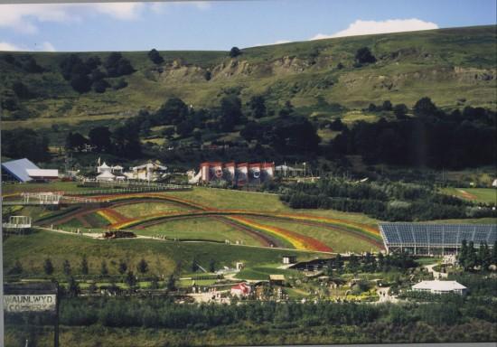Garden Festival Wales 1992 Panorama 2