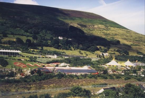 Garden Festival Wales 1992 Panorama 3