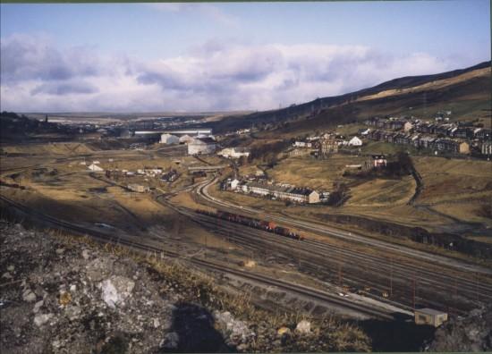 Ebbw Valley looking North
