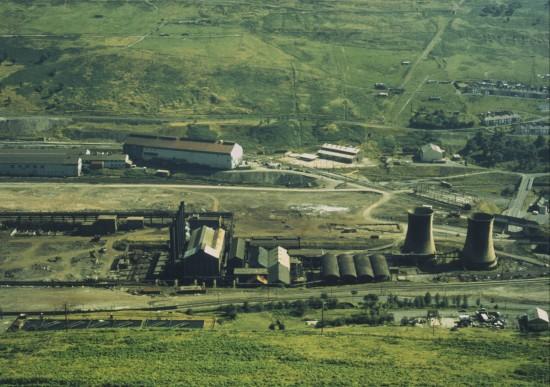 Steelworks during Demolition