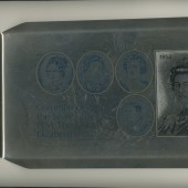 Queen's Silver Jubilee Commemorative Tray