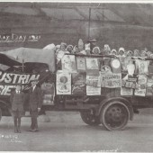 Float at May Day Parade 1921