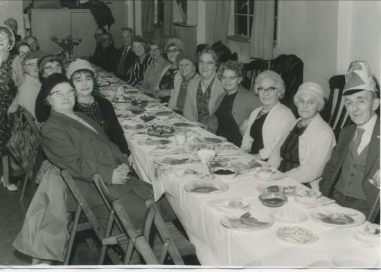 Tea At The Cwm Pensioners Hall