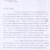Letter from Aneurin Bevan M.P.replying to Mr.    Stanley Bevan.