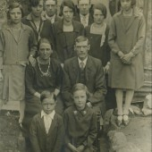 The Richards Family,10,School Terrace,Cwm.