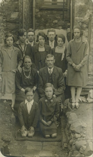 The Richards Family,10,School Terrace,Cwm.